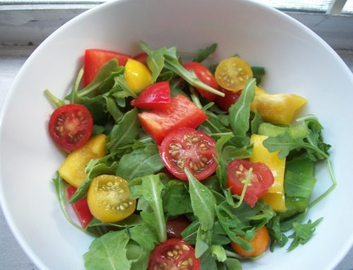 Fresh Salad Greens with Citrus Vinaigrette