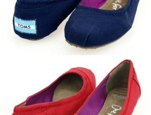 Give Back With Toms Cute Ballet Flats!