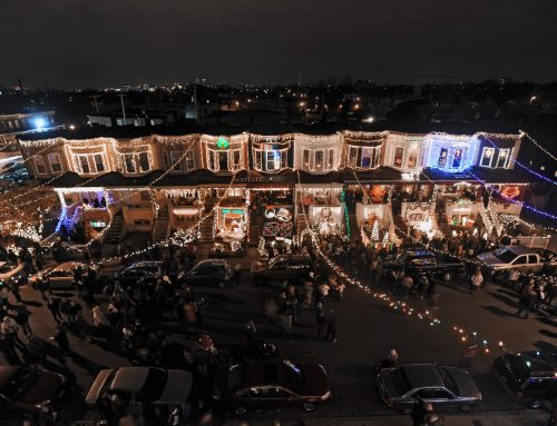 Would you like to own a house on one of the merriest blocks in the country?