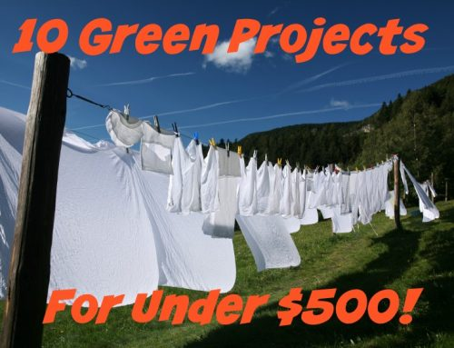 10 Green Projects for under $500